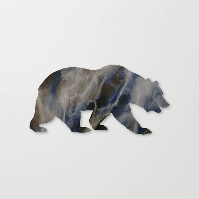 marble-bear-silhouette-canvas