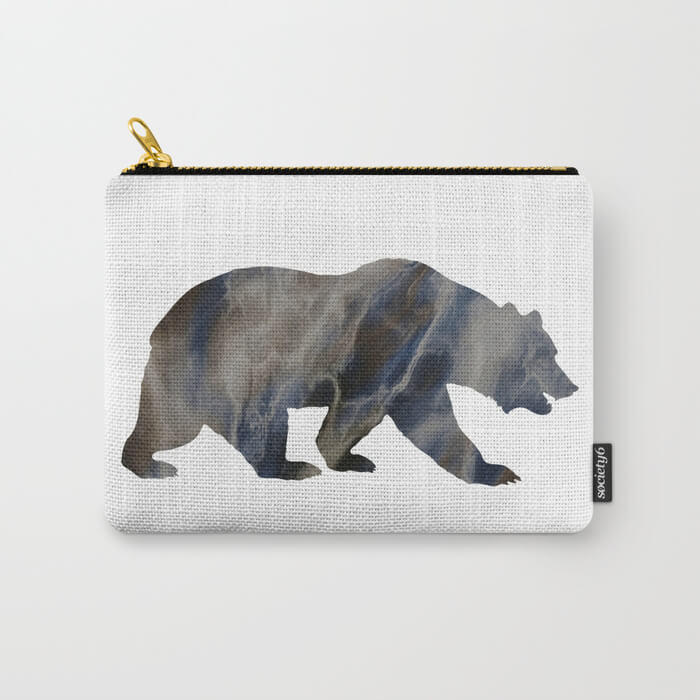marble-bear-silhouette-carry-all-pouches